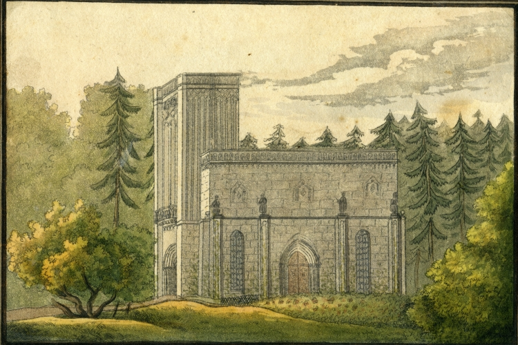 Turmbau nach Goethes Entwurf