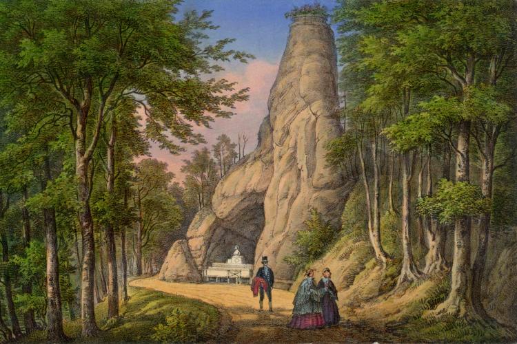 Die Greifenbank im 19. Jahrhundert
